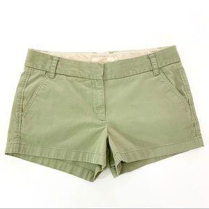 J.Crew Chino Broken-In Shorts Misty Green 8